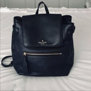 Rare black Kate Spade backpack